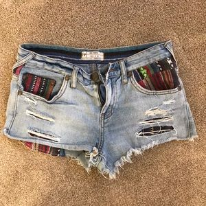 Free People Jean Shorts Size 26W